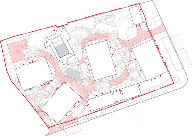 Symphony 34 housing complex. The fire plan