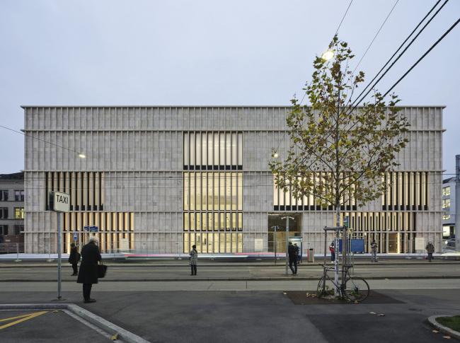 Кунстхаус в Цюрихе – новое крыло