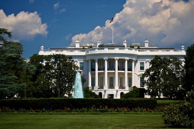 Белый дом в Вашингтоне (южный фасад)