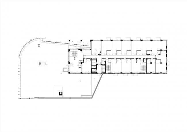 Комплекс апартаментов Story. План второго этажа