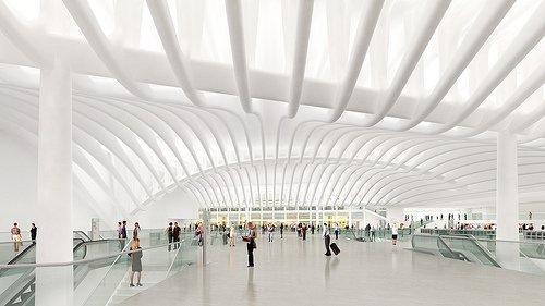 Транспортный терминал ЦМТ. Главный зал. Проект октябрь 2008