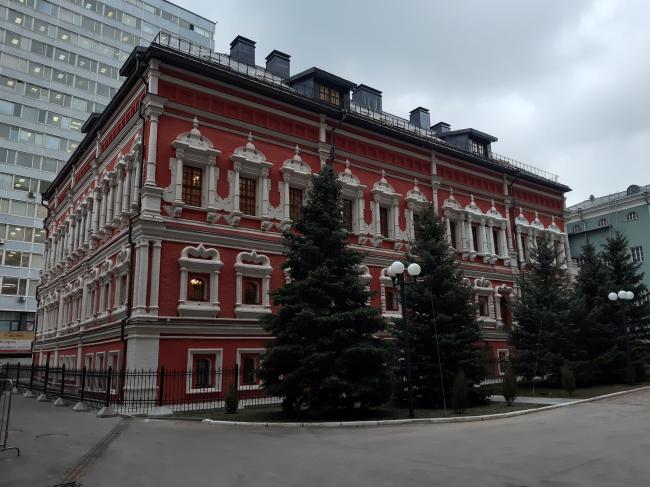 Дворец боярина Троекурова, палаты XVI–XVII веков (Георгиевский переулок, дома 4–6, строение 2)