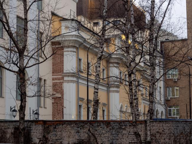 Городская усадьба  М.Ф. и Н.М. Каменских второй половины XVIII века, архитектор – С.В. Федоров (Смоленский бульвар, дом 19, строение 2)