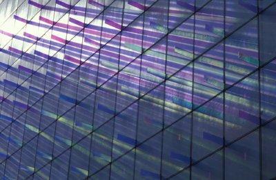 Фасадная инсталляция Dichroic Light Field, Нью-Йорк, 1994-1995