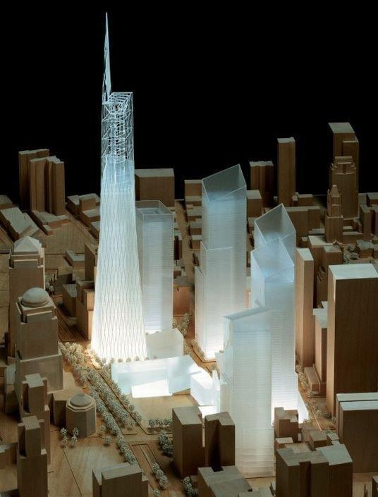 Даниэль Либескинд. Конкурсный проект нового ЦМТ в Нью-Йорке. 2003