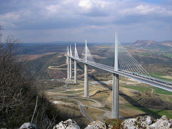 Норман Фостер. Мост Милло. Франция. 2004