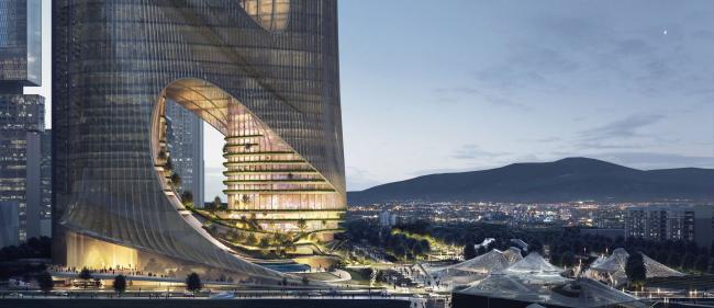 Башня C Базы супер-штаб-квартир Шэньчжэньского залива