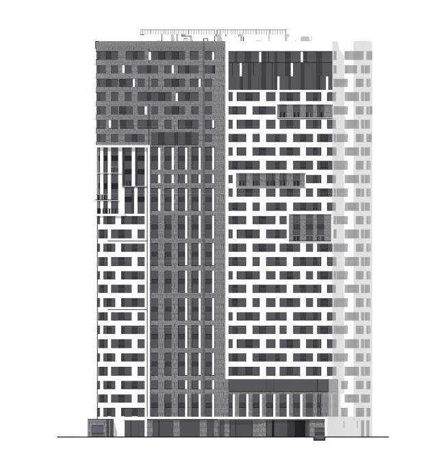Фасады. Бульвар Генерала Карбышева 7