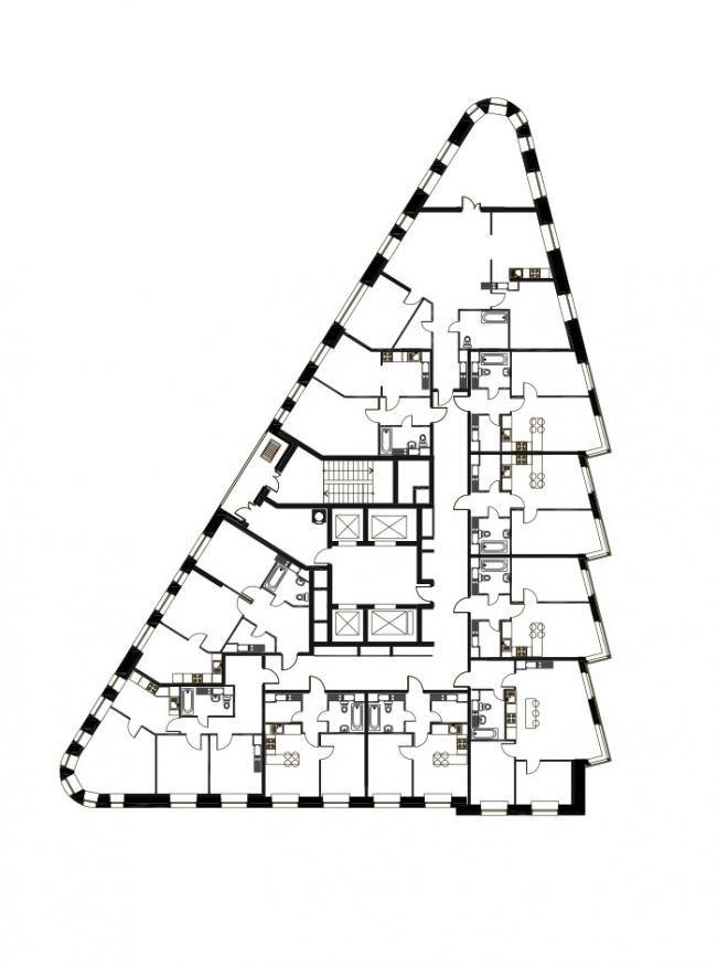 Бульвар Генерала Карбышева 9. Жилой квартал «Юнион Парк»