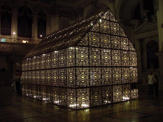 Выставка BornHouse в церкви Сан-Стае в Венеции
