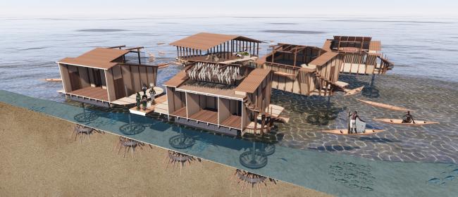 Конкурсный проект «Поднимаясь вместе с океаном»