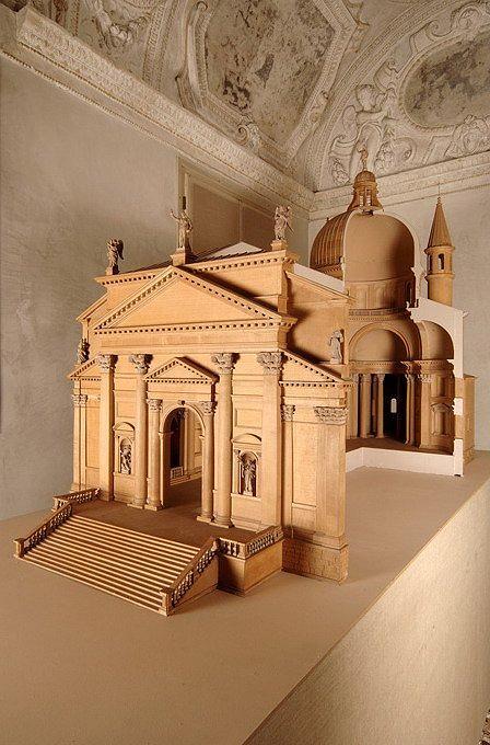 Модель церкви Иль Реденторе