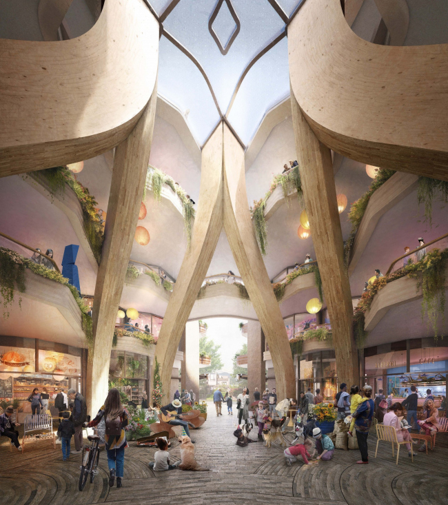 Жилой комплекс 1700 Alberni по проекту Heatherwick Studio