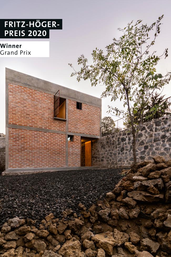 Особняк Nakasone House в Мехико