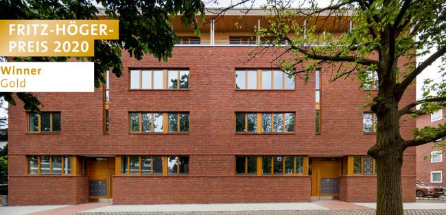 Жилой дом Schiffahrter Damm в Мюнстере