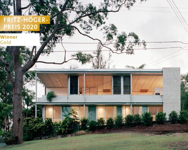 Жилой дом Couldrey House в Австралии