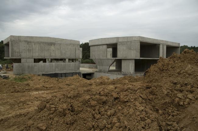 """Строительство коттеджного поселка """"Барвиха-Hills«. Экскурсия »Свобода доступа"""". 16.06.07"""