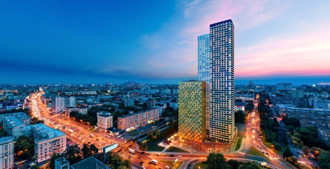 Жилой комплекс D1 в Москве