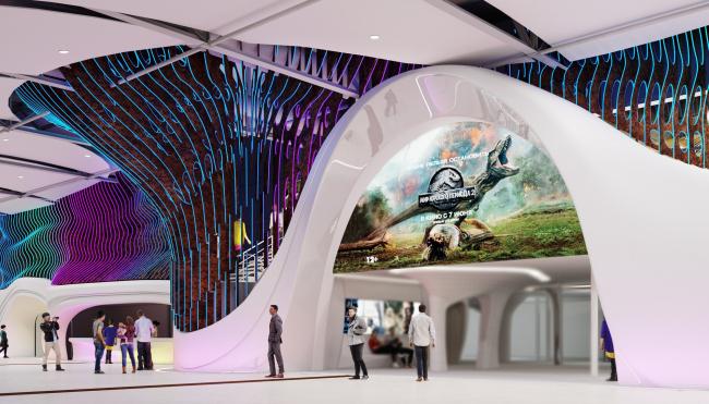 Дизайн-проект интерьера КЦ «Большой»