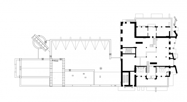 План антресоли 2 этажа. Реновация заброшенной фабрики под частный жилой комплекс для компании «АМИЛКО» в городе Миллерово