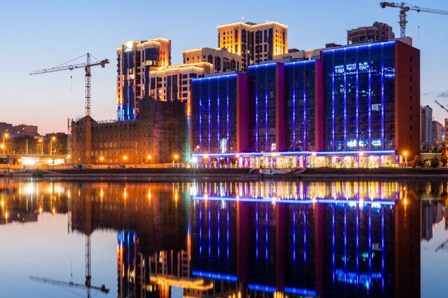 Реконструкция здания Симановской мельницы