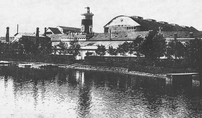 Вид со стороны реки Мойка