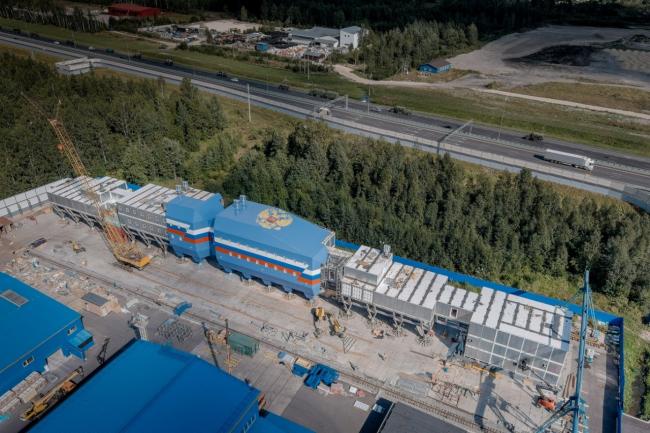 Новый зимовочный комплекс антарктической станции «Восток»