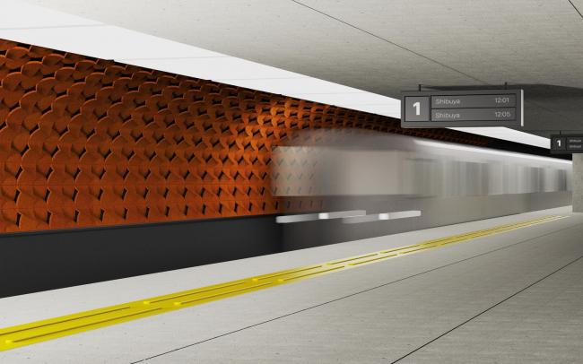 Конкурсный проект Terracotta Valley Wind, Lexus Design Award
