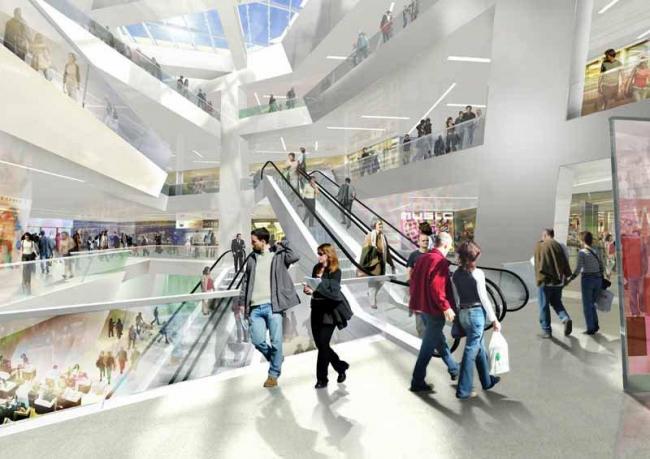 """Комплекс """"Westside"""". Проект © Studio Daniel Libeskind"""