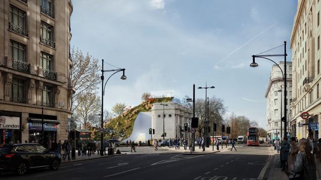 Холм «Мраморной арки»