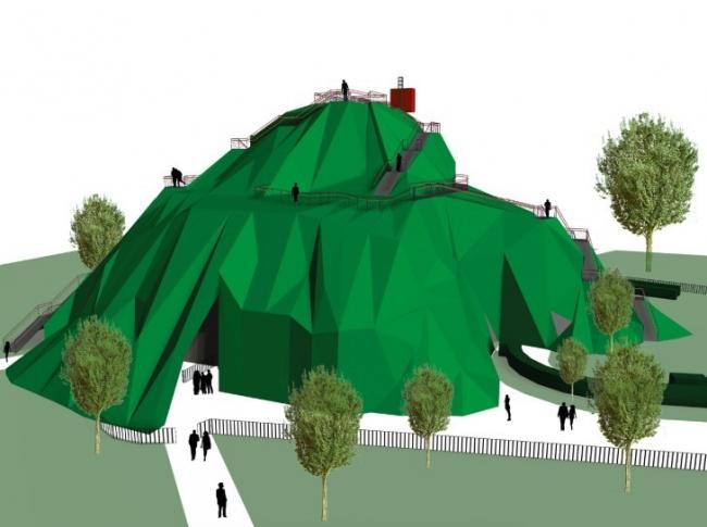 Летний павильон галереи «Серпентайн» – проект MVRDV