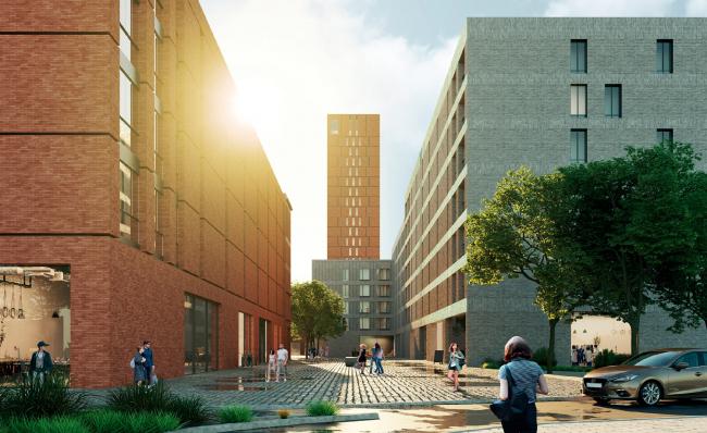 Концепция жилой застройки территории вблизи стадиона Арена в Самаре / конкурсный проект / 2020