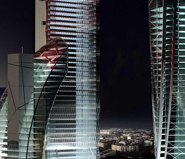 Проект CityLife © Zaha Hadid Architects/ Studio Libeskind/  Arata Isozaki