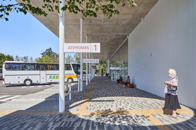 Автовокзал в Вилкавишкисе