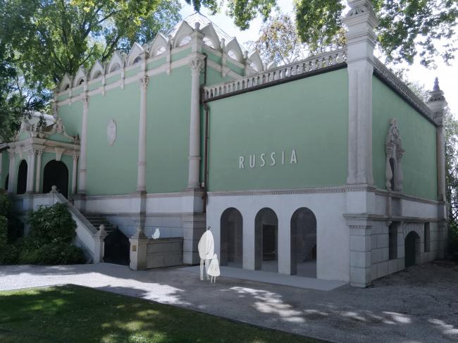 Проект реконструкции павильона России на биеннале в Венеции, 2020-2021