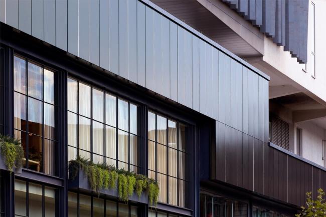 Объект с Rockpanel Premium A2 в Лондоне
