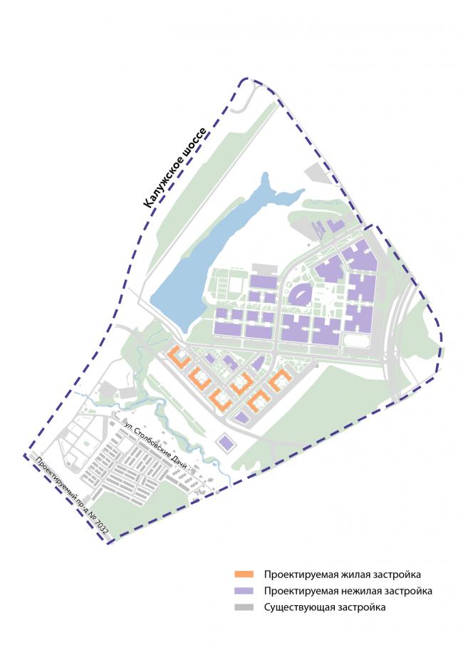 Концепция образовательного кластера в административно-деловом центре Коммунарка