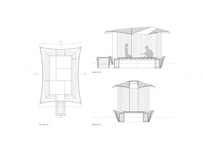 Павильон Teahouse Ø