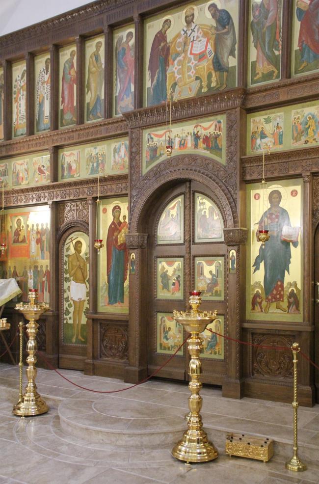 Храм Усекновения главы Иоанна Предтечи у Новодевичьего монастыря