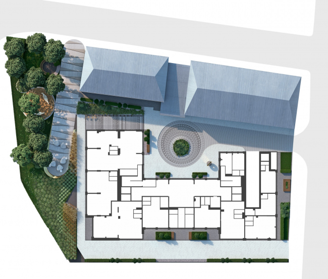 The master plan. PLAY apartment complex