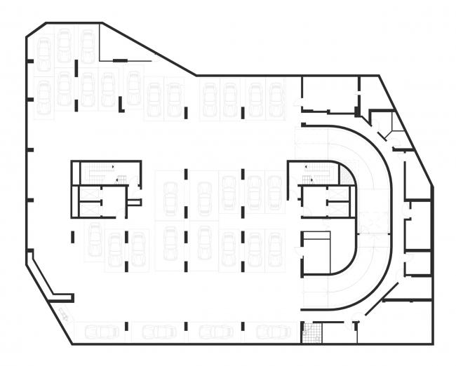 "План 1 этажа. Апартаментный комплекс ""Play"""