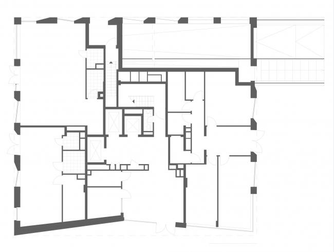 План 1 этажа. ЖК «Maison Rouge»