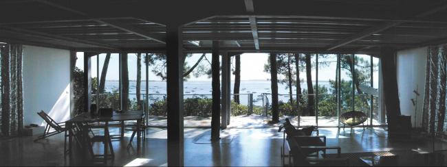 Дом на мысе Кап-Ферре. 1998