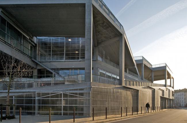 Школа архитектуры в Нанте. 2009