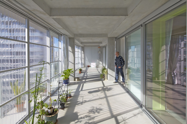 Реконструкция корпусов G, H, I комплекса Cité du Grand Parc в Бордо. 2017