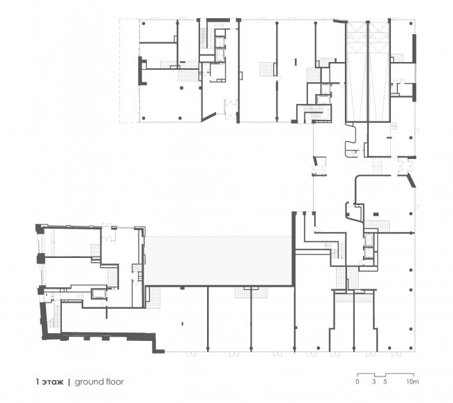 План первого этажа. Жилой дом Реномэ