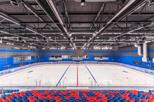 Спортивный комплекс хоккейного клуба СКА