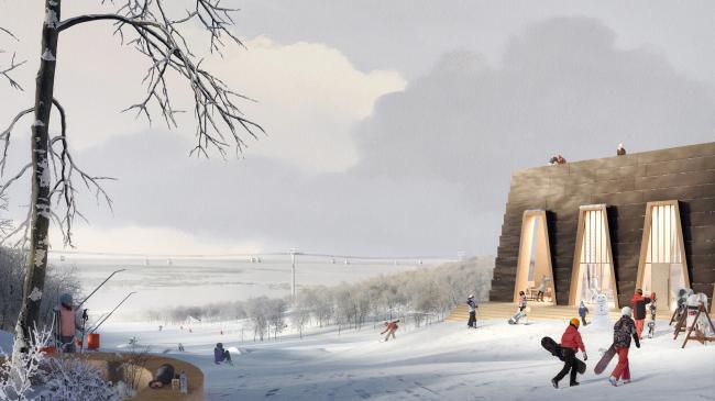 Конкурсная концепция развития центральной части Саратова. Парк Победы