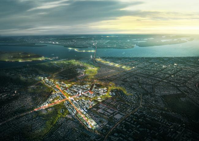 Конкурсная концепция развития центральной части Саратова. Бывший аэропорт Саратов (Центральный)
