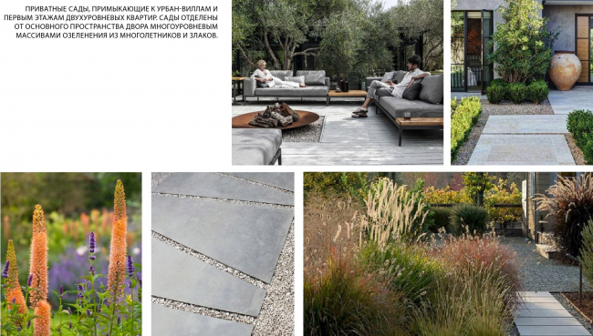 Приватные сады. Городские резиденции «Spires»